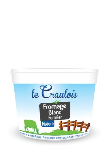 LE CRAULOIS - Mon fermier préféré - Fromage-frais Fermier