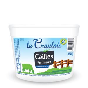 LE CRAULOIS - Mon fermier préféré - Produits laitiers fermiers - Lait caillé - Cailles fermières