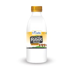 LE CRAULOIS - Mon fermier préféré - Produits laitiers fermiers - Lait Ribot Fermier 1/2 Litre
