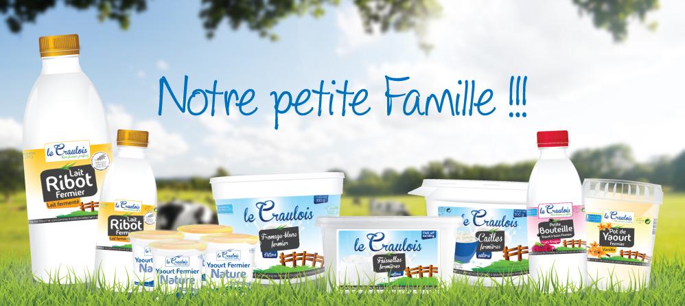 LE CRAULOIS - Mon fermier préféré - Nos produits laitiers fermiers