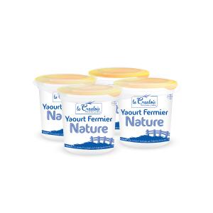 LE CRAULOIS - Mon fermier préféré - Produits laitiers fermiers - Yaourts Nature Fermiers
