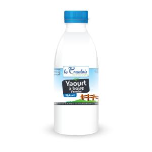 LE CRAULOIS - Mon fermier préféré - Produits laitiers fermiers - Yaourt à boire nature