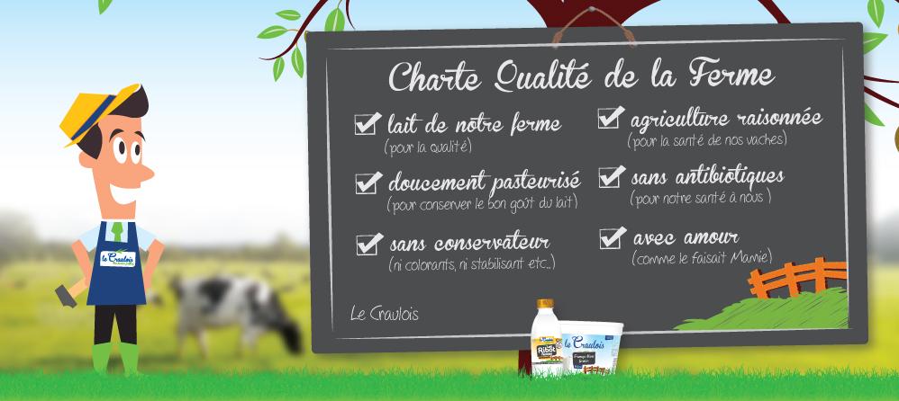 LE CRAULOIS - Mon fermier préféré - Charte Qualité de la Ferme